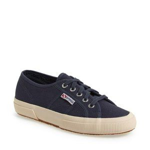NWT Superga 2750 Cotu Classic Sneakers Navy 8